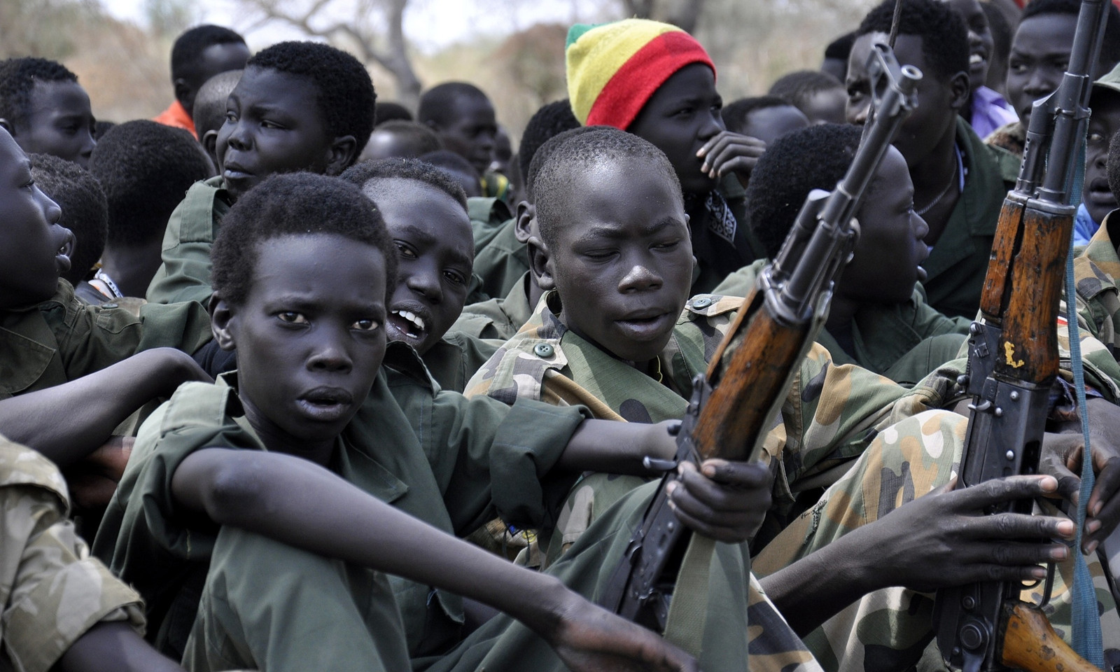 Southsudanchildsoldiers